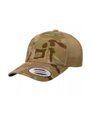 Casquette trucker camouflage FLEXFIT Multicam Arid
