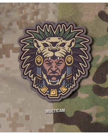 "Morale Patch ""Aztec Warrior Head"" Multicam"