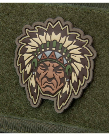 "Morale Patch ""Native American Warrior Head"" Multicam"