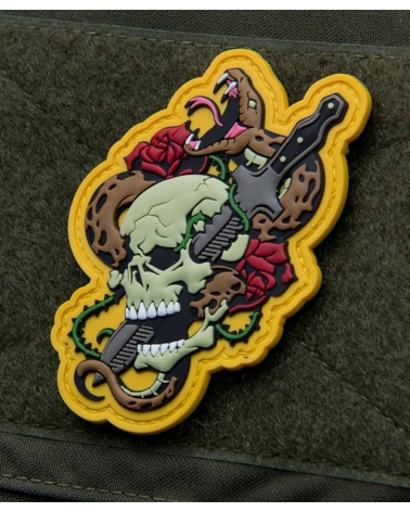 "Morale Patch PVC ""Skull Snake 1"" Fullcolor"