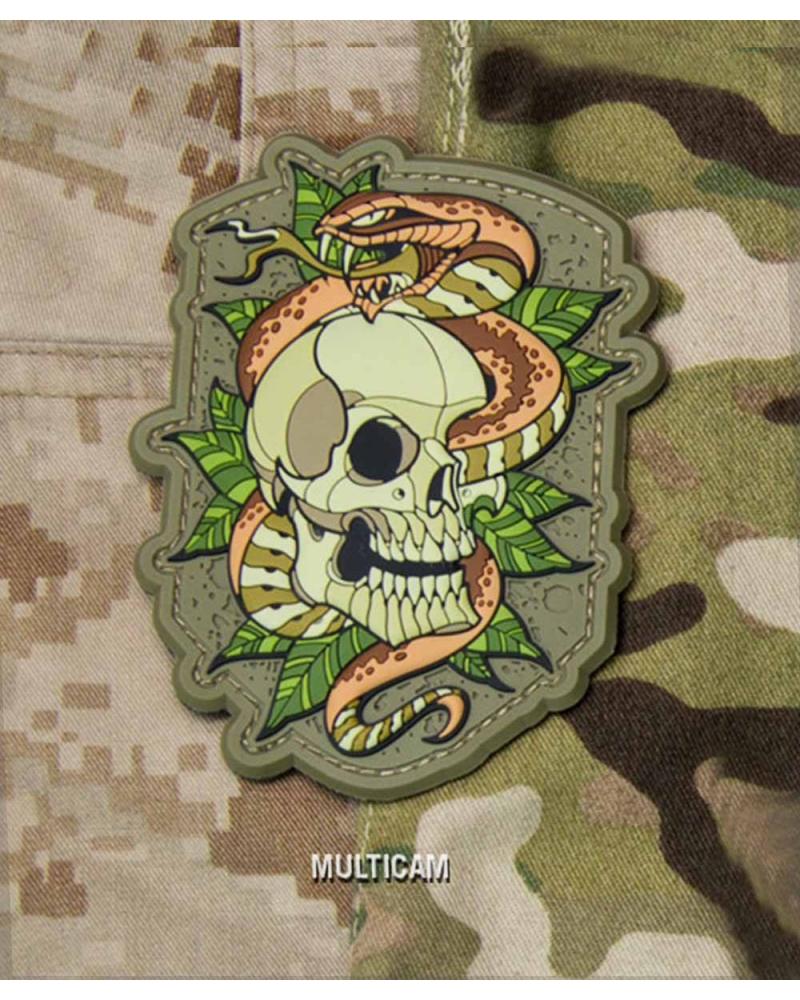 "Morale Patch PVC ""Skull Snake 2"" Multicam"