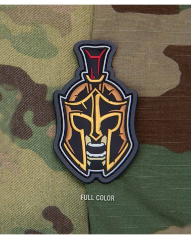 "Morale Patch PVC ""Spartan Warrior Head 1"" Fullcolor"
