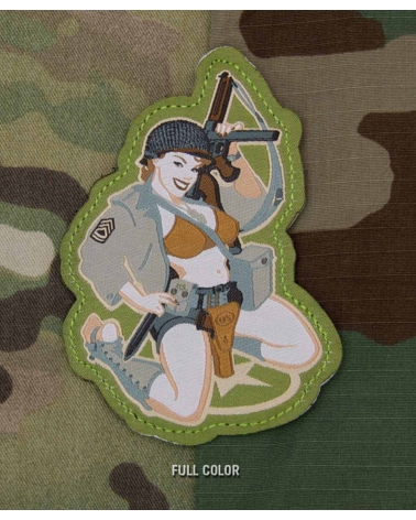 """Morale Patch """"Thompson Girl Pinup"""" Fullcolor"""