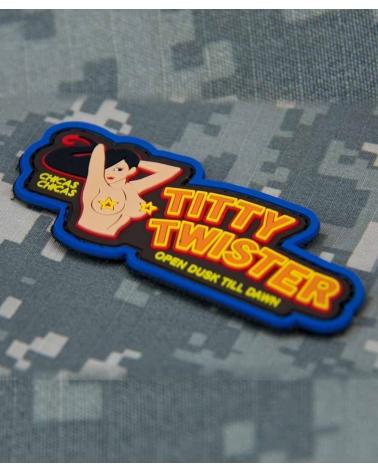 "Morale Patch PVC ""Titty Twister"" Fullcolor"