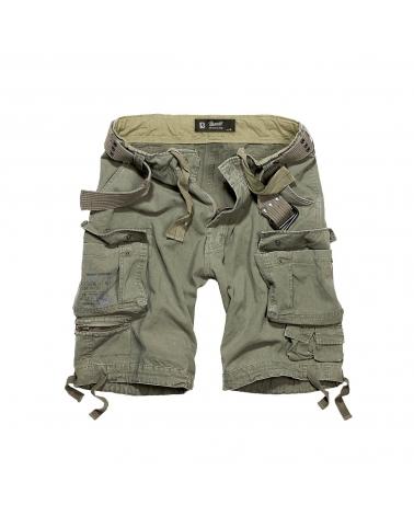 Short militaire homme kaki