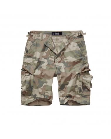 Short BRANDIT BDU camouflage clair