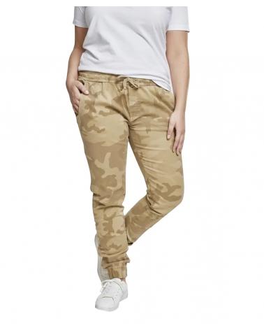 Pantalon Jogging Militaire Sand Camo Femme URBAN CLASSICS