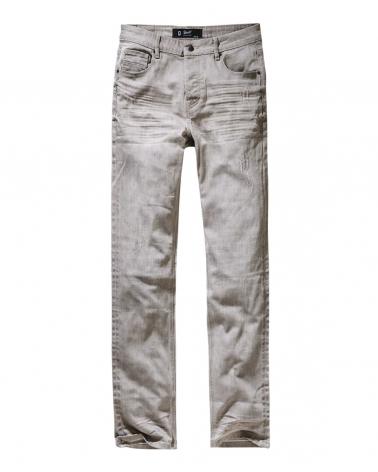 "Jeans BRANDIT ""Jake"" gris clair"