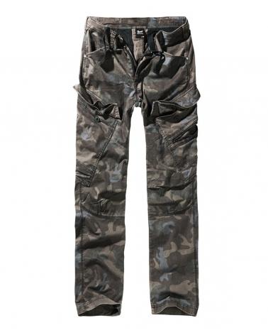 """Pantalon homme militaire Slim Fit BRANDIT """"Adven"""" Dark Camo"""