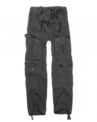 """style pantalon cargo homme BRANDIT """"Pure Vintage"""" noir"""