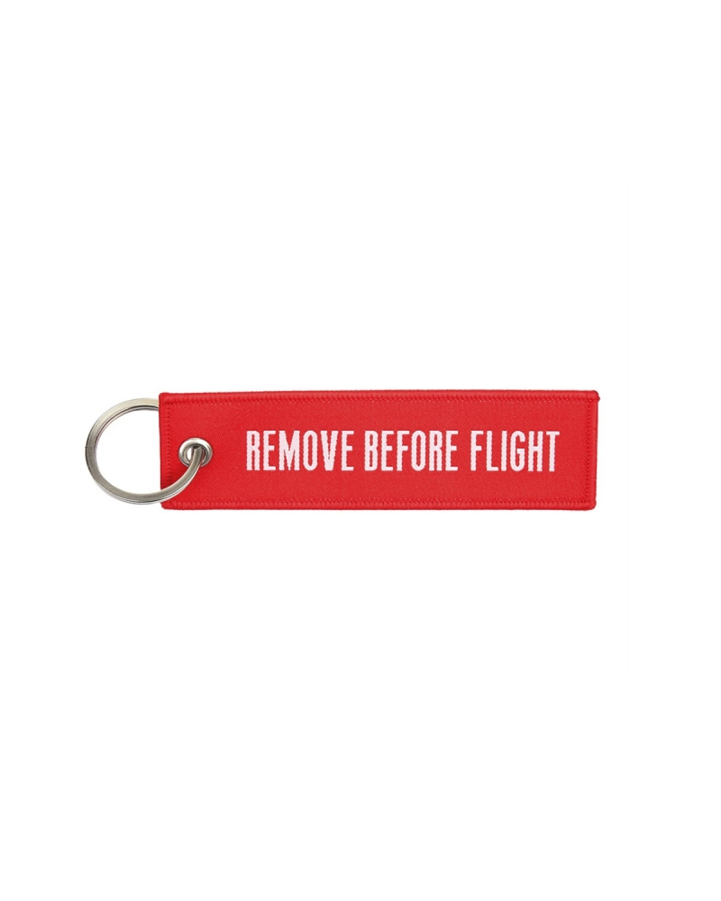 "Porte-Clés militaire FOSTEX ""Remove Before Flight"""