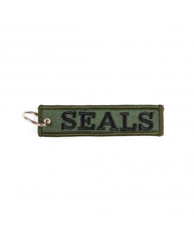 """Porte-Clés militaire FOSTEX """"Seals"""" kaki"""