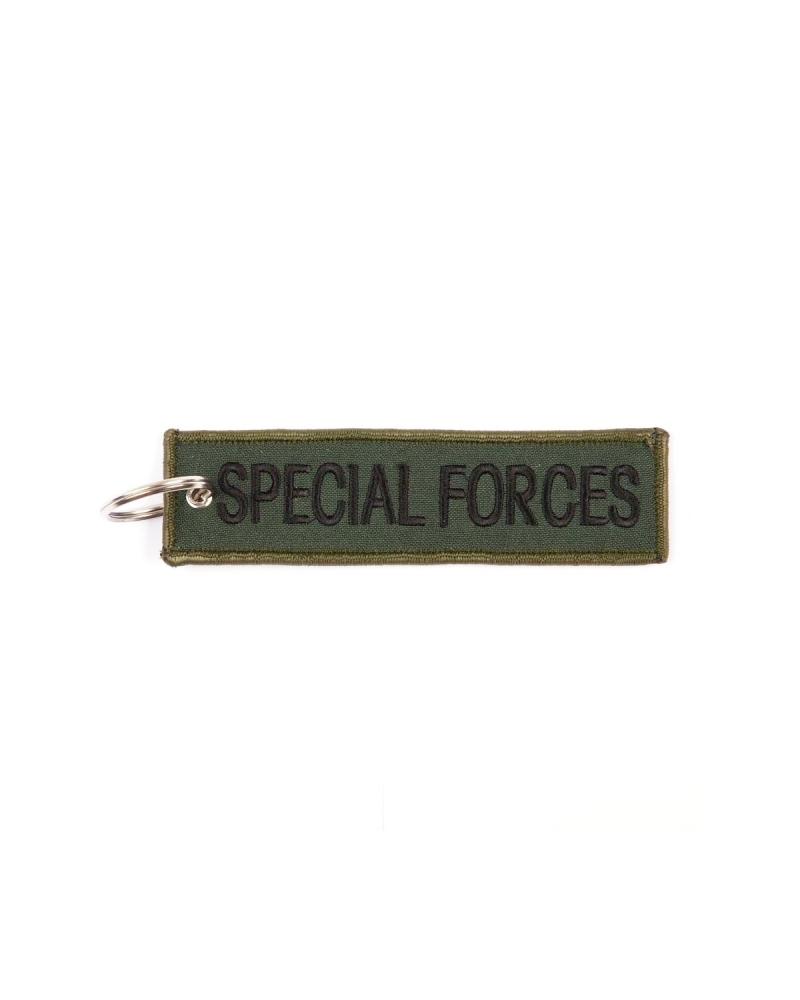 """Porte-Clés militaire FOSTEX """"Special Forces"""" kaki"""