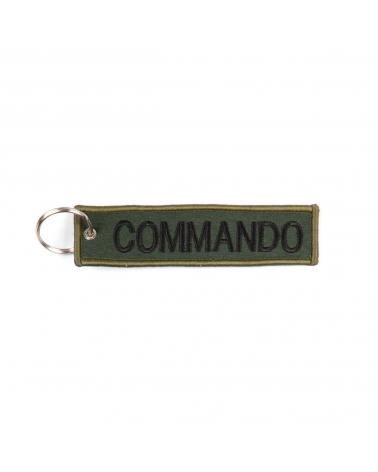 """Porte-Clés militaire FOSTEX """"Commando"""" kaki"""