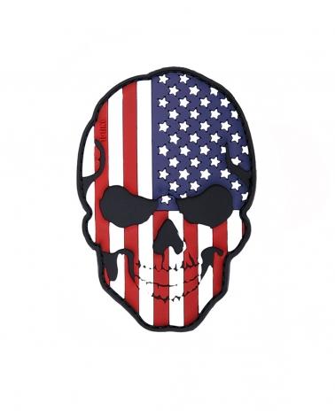 """Morale Patch PVC """"Skull USA"""" Fullcolor"""