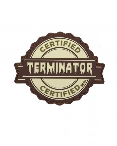 "Morale Patch PVC ""Terminator"" beige"