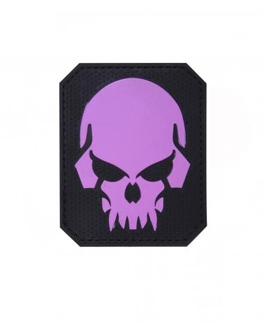 "Morale Patch PVC ""Skull"" rose"
