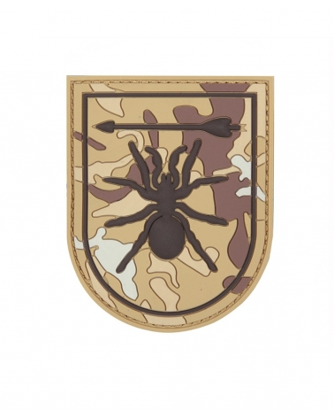 """Morale Patch PVC """"Special Forces Spider"""" coyote"""