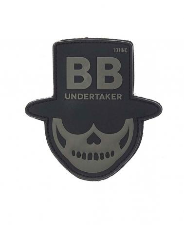 """Morale Patch PVC """"BB Undertaker"""" noir"""