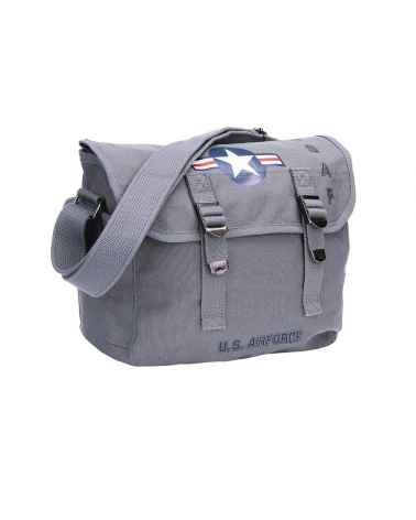 Musette Vintage grise US Air Force FOSTEX WWII SERIES 10 L