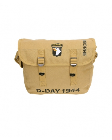 Musette 101st Airborne D-Day beige FOSTEX WWII SERIES 10 L