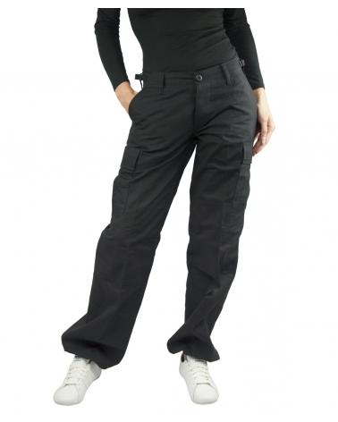 Pantalon Treillis MIL-TEC Femme noir