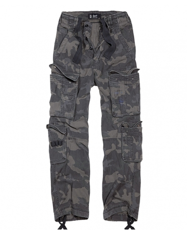 "style pantalon cargo homme BRANDIT ""Pure Vintage"" Dark Camo"