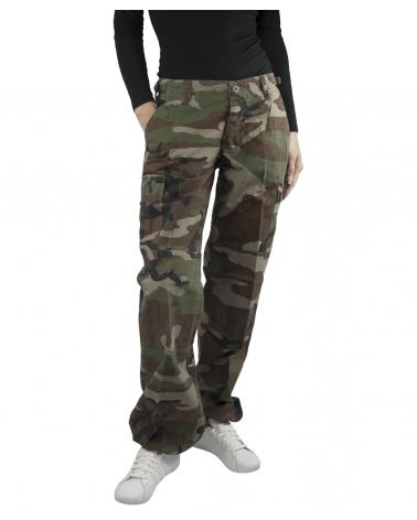 Pantalon MIL-TEC Femme camouflage