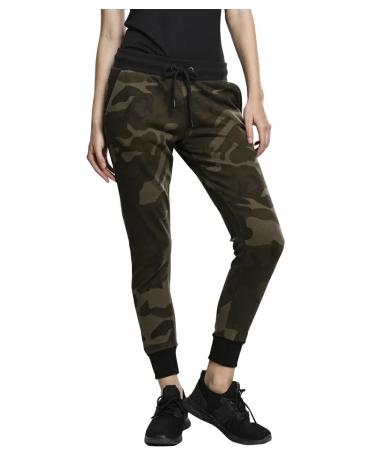 Pantalon camouflage Jogging camouflage Femme URBAN CLASSICS