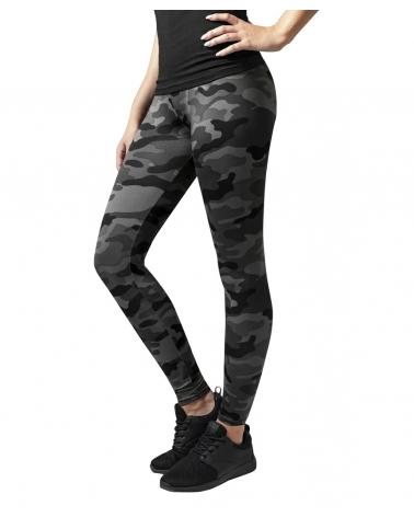 Leggings femme Black camouflage URBAN CLASSICS
