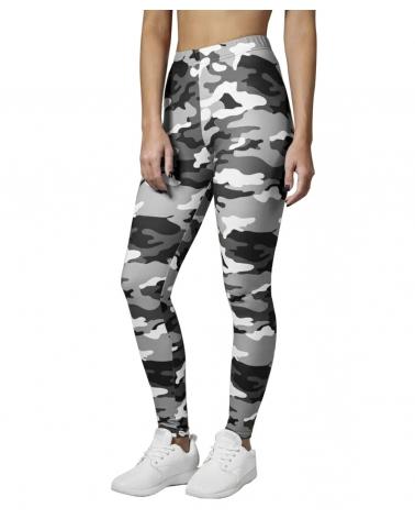 Leggings femme Urban camouflage gris URBAN CLASSICS