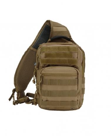 sac à dos militaire mono bretelle beige coyote