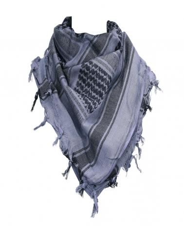 Shemagh gris clair/noir 101 INC