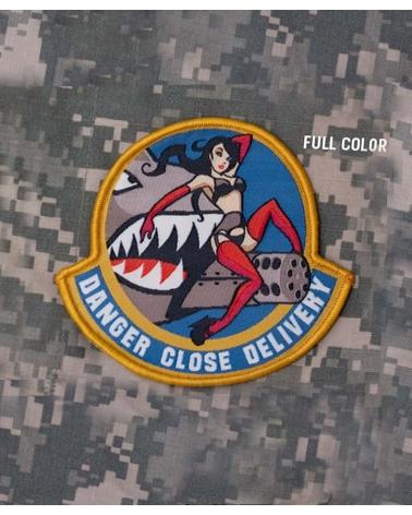 """Morale Patch """"Danger Close"""" Fullcolor"""