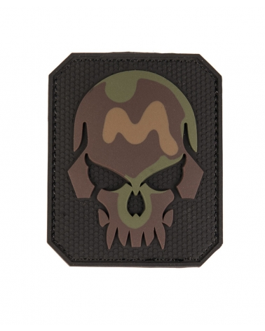 Morale Patch MIL-TEC Skull noir camouflage