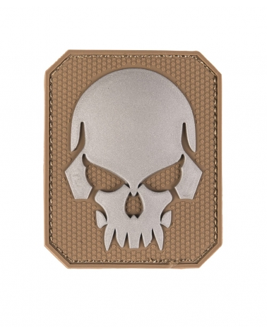 Morale Patch MIL-TEC Skull coyote
