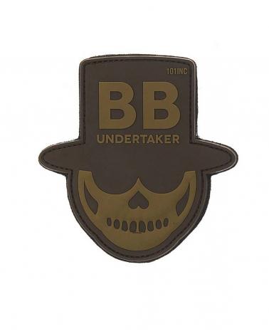 "Morale Patch PVC ""BB Undertaker"" coyote"