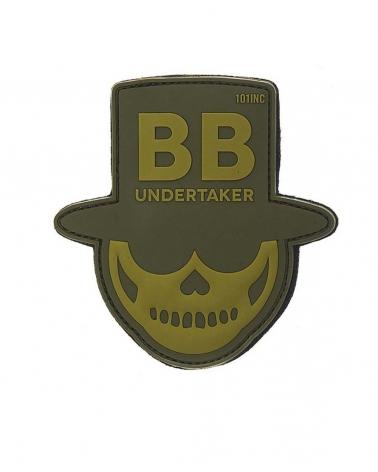 """Morale Patch PVC """"BB Undertaker"""" kaki"""