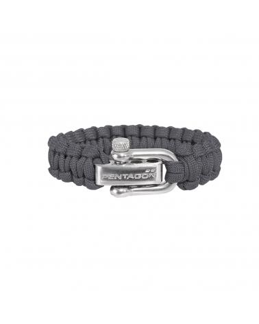 Bracelet PENTAGON Survival gris