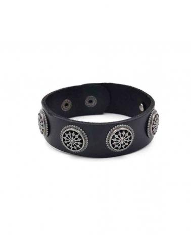 Bracelet Mandala noir
