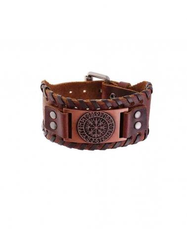 Bracelet Celte marron/cuivre