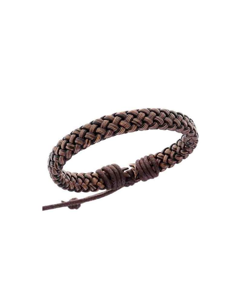 Bracelet Tribal marron