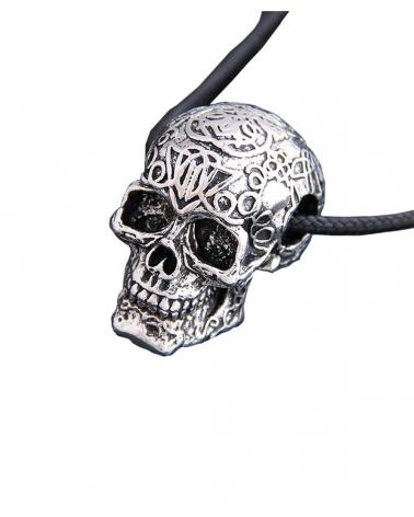 Collier Antic Skull