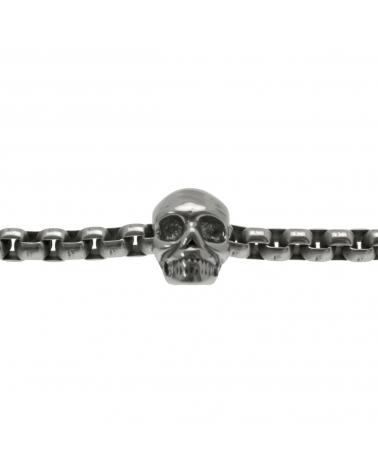 Bracelet acier Skull