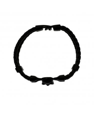 Bracelet Skull noir