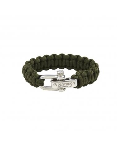 Bracelet PENTAGON Survival kaki