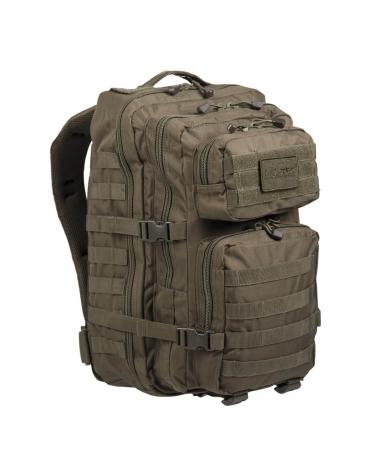 Grand Sac à Dos militaire tactique kaki MIL-TEC US Assault 36 L